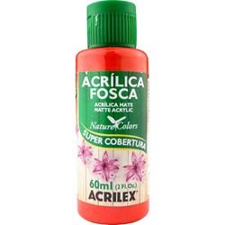 Tinta Acrílica Fosca - Nature Colors Acrilex 60mL - 541 Vermelho Vivo