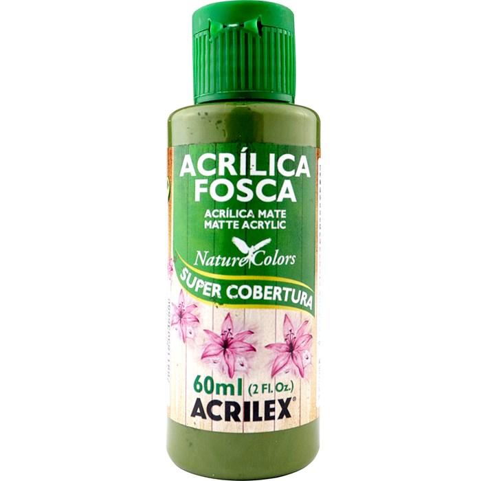 Tinta Acrílica Fosca - Nature Colors Acrilex 60mL - 545 Verde Oliva