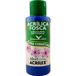 Tinta Acrílica Fosca - Nature Colors Acrilex 60mL - 559 Azul