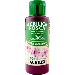 Tinta Acrílica Fosca - Nature Colors Acrilex 60mL - 565 Vinho
