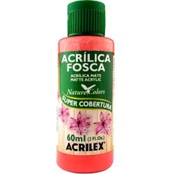 Tinta Acrílica Fosca - Nature Colors Acrilex 60mL - 586 Coral