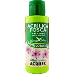 Tinta Acrílica Fosca - Nature Colors Acrilex 60mL - 802 Verde Maçã