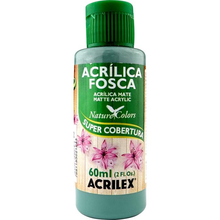 Tinta Acrílica Fosca - Nature Colors Acrilex 60mL - 822 Verde Country