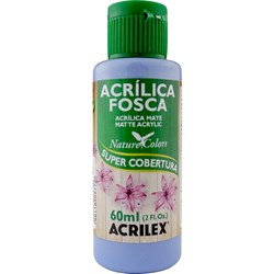 Tinta Acrílica Fosca - Nature Colors Acrilex 60mL - 825 Azul Country