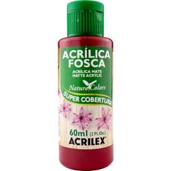Tinta Acrílica Fosca - Nature Colors Acrilex 60mL - 826 Cereja