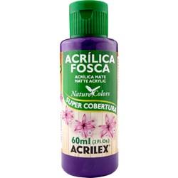 Tinta Acrílica Fosca - Nature Colors Acrilex 60mL - 917 Violeta Escuro