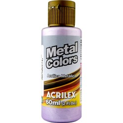 Tinta Acrílica Metal Colors Acrilex 60mL - 528 Lilás
