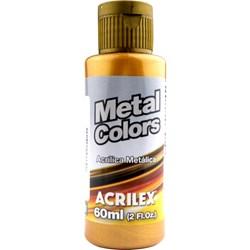 Tinta Acrílica Metal Colors Acrilex 60mL - 548 Ouro Velho