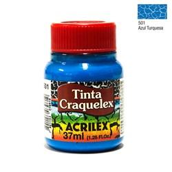 Tinta Craquelex Acrilex 37mL - 501 Azul Turquesa