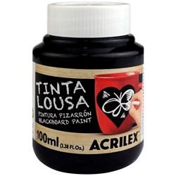 Tinta Lousa Acrilex 100ml - 520 Preto
