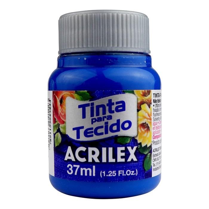 Tinta para Tecido Fosca Acrilex 37mL - 501 Azul Turquesa