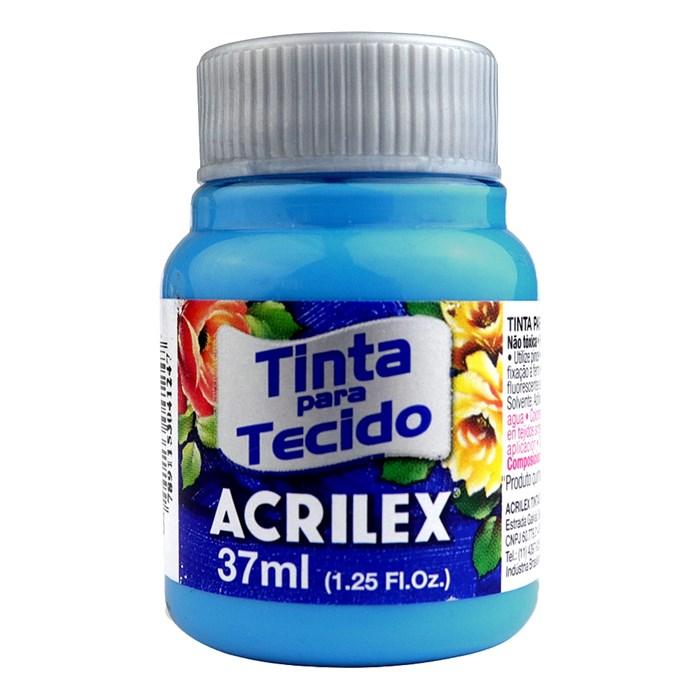Tinta para Tecido Fosca Acrilex 37mL - 503 Azul Celeste