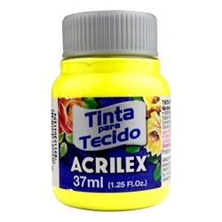 Tinta para Tecido Fosca Acrilex 37mL - 504 Amarelo Limão