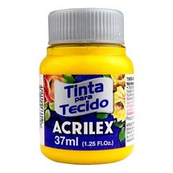 Tinta para Tecido Fosca Acrilex 37mL - 505 Amarelo Ouro