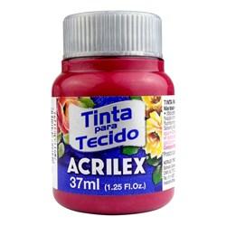 Tinta para Tecido Fosca Acrilex 37mL - 509 Vermelho Carmim