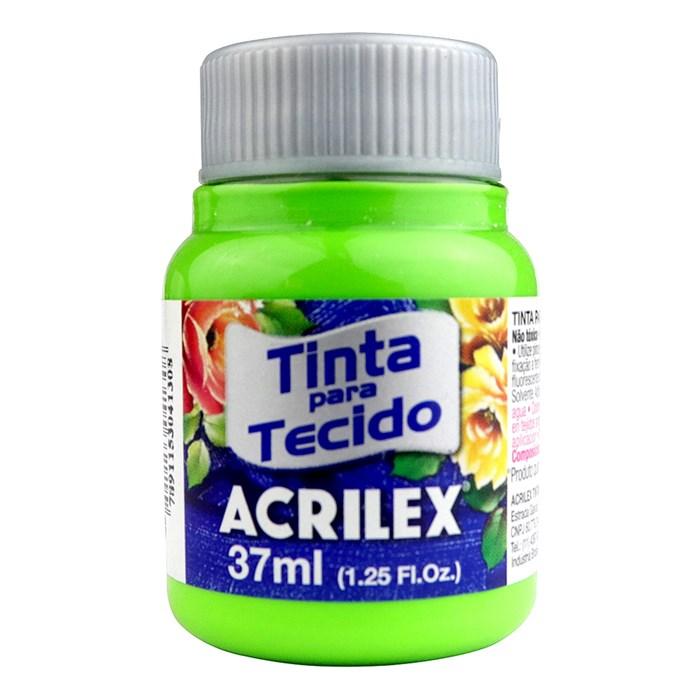 Tinta para Tecido Fosca Acrilex 37mL - 510 Verde Folha