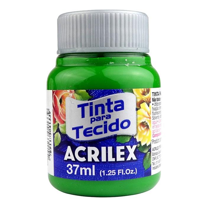 Tinta para Tecido Fosca Acrilex 37mL - 513 Verde Musgo