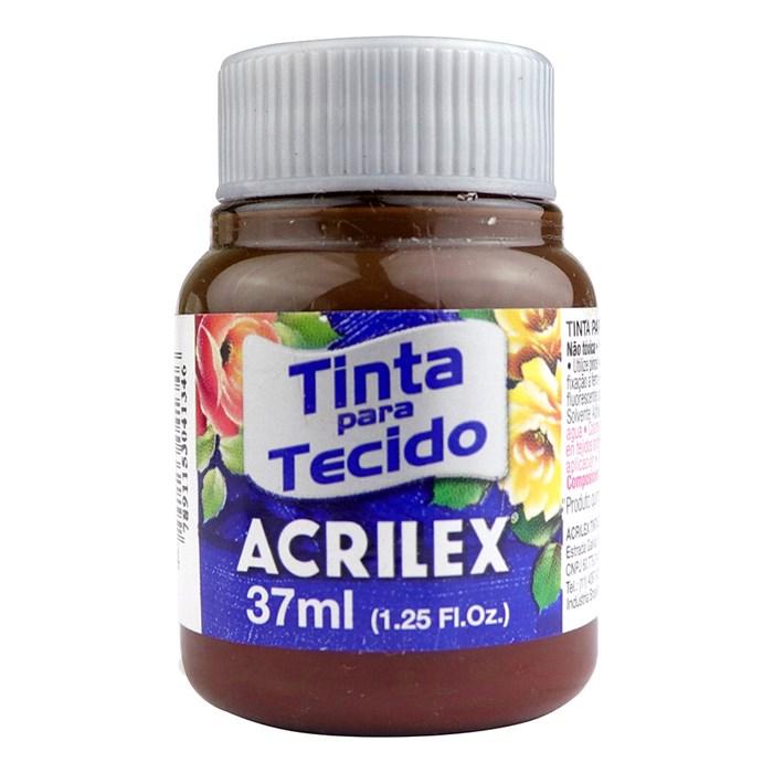 Tinta para Tecido Fosca Acrilex 37mL - 514 Terra Queimada