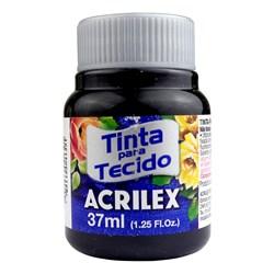 Tinta para Tecido Fosca Acrilex 37mL - 520 Preto