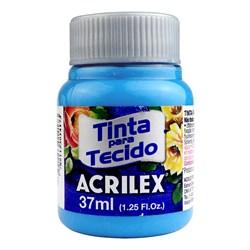 Tinta para Tecido Fosca Acrilex 37mL - 535 Azul Mar