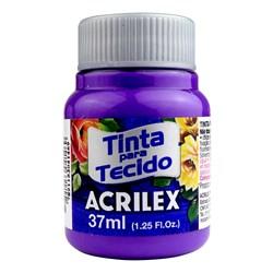 Tinta para Tecido Fosca Acrilex 37mL - 540 Violeta Cobalto