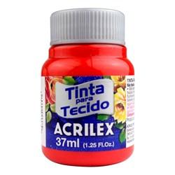 Tinta para Tecido Fosca Acrilex 37mL - 541 Vermelho Vivo