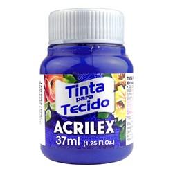 Tinta para Tecido Fosca Acrilex 37mL - 543 Azul Ultramar