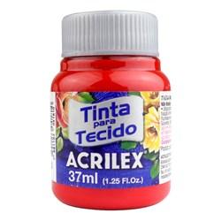 Tinta para Tecido Fosca Acrilex 37mL - 583 Vermelho Tomate