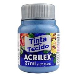 Tinta para Tecido Fosca Acrilex 37mL - 584 Azul Inverno