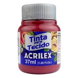 Tinta para Tecido Fosca Acrilex 37mL - 588 Vermelho Queimado
