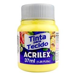 Tinta para Tecido Fosca Acrilex 37mL - 589 Amarelo Canário