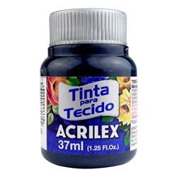 Tinta para Tecido Fosca Acrilex 37mL - 596 Azul Petroleo
