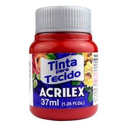 Tinta para Tecido Fosca Acrilex 37mL - 632 Vermelho Profundo