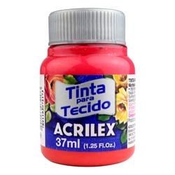 Tinta para Tecido Fosca Acrilex 37mL - 800 Vermelho Bebê