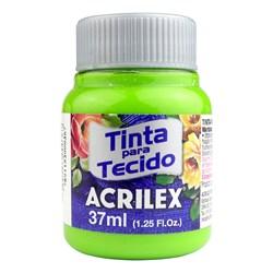 Tinta para Tecido Fosca Acrilex 37mL - 802 Verde Maçã