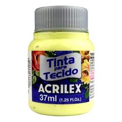 Tinta para Tecido Fosca Acrilex 37mL - 808 Amarelo Bebê