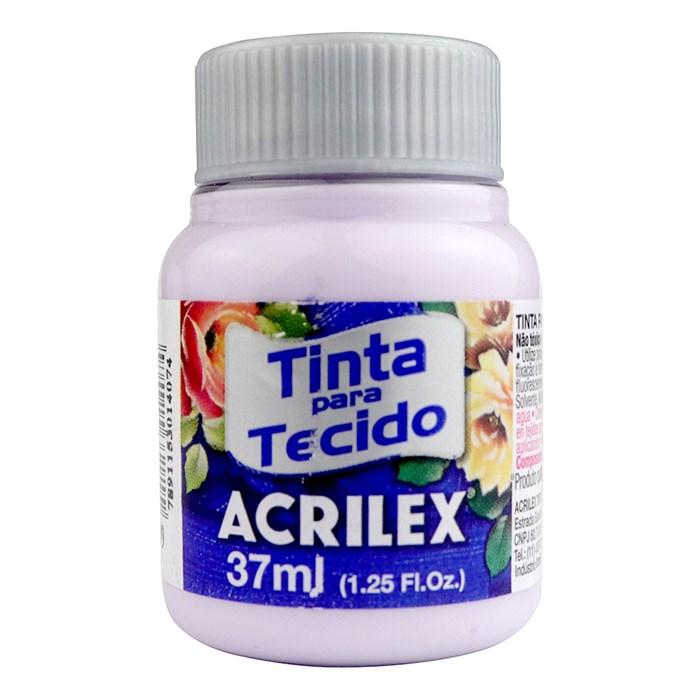 Tinta para Tecido Fosca Acrilex 37mL - 809 Lilás Bebê