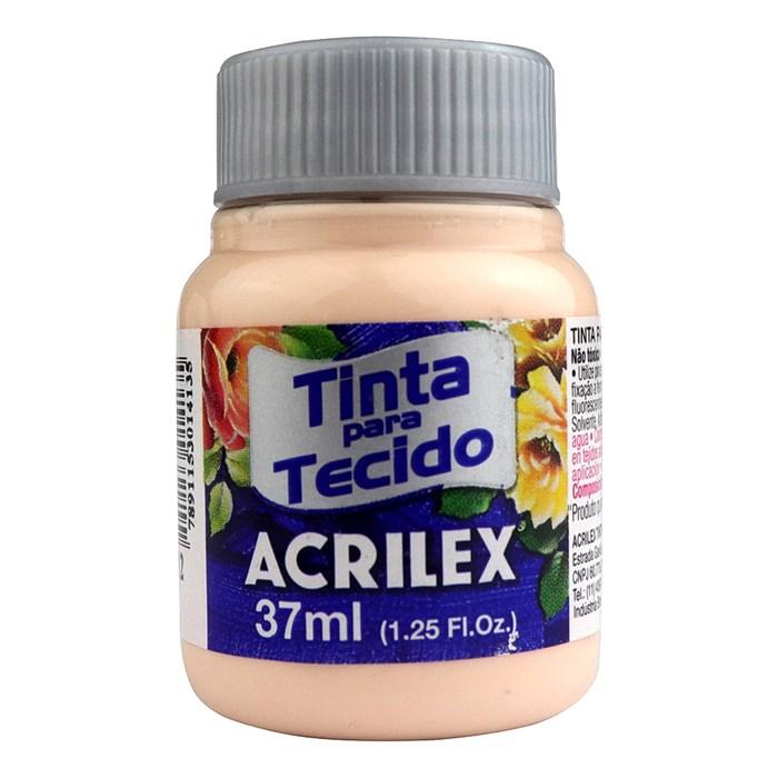 Tinta para Tecido Fosca Acrilex 37mL - 812 Salmão Bebê
