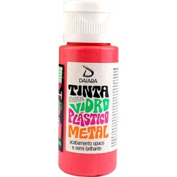 Tinta para Vidro, Plástico e Metal 60mL Daiara - 09 Pink