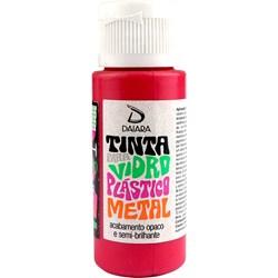 Tinta para Vidro, Plástico e Metal 60mL Daiara - 10 Cereja