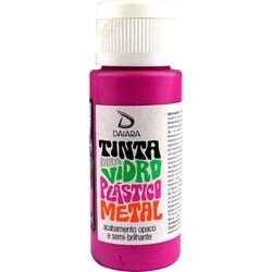 Tinta para Vidro, Plástico e Metal 60mL Daiara - 12 Magenta