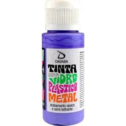 Tinta para Vidro, Plástico e Metal 60mL Daiara - 17 Ametista
