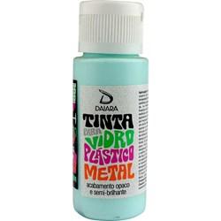 Tinta para Vidro, Plástico e Metal 60mL Daiara - 23 Verde Água