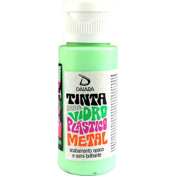 Tinta para Vidro, Plástico e Metal 60mL Daiara - 24 Verde Claro