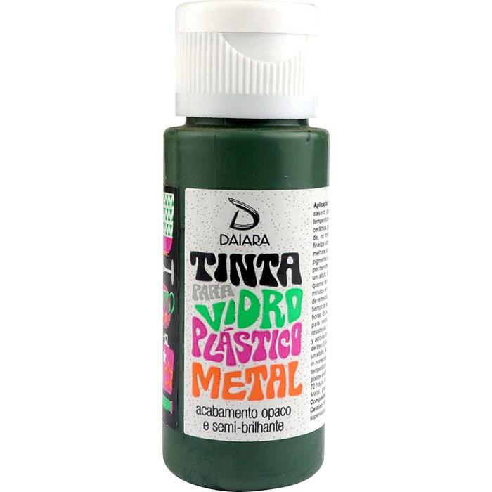 Tinta para Vidro, Plástico e Metal 60mL Daiara - 27 Verde Militar