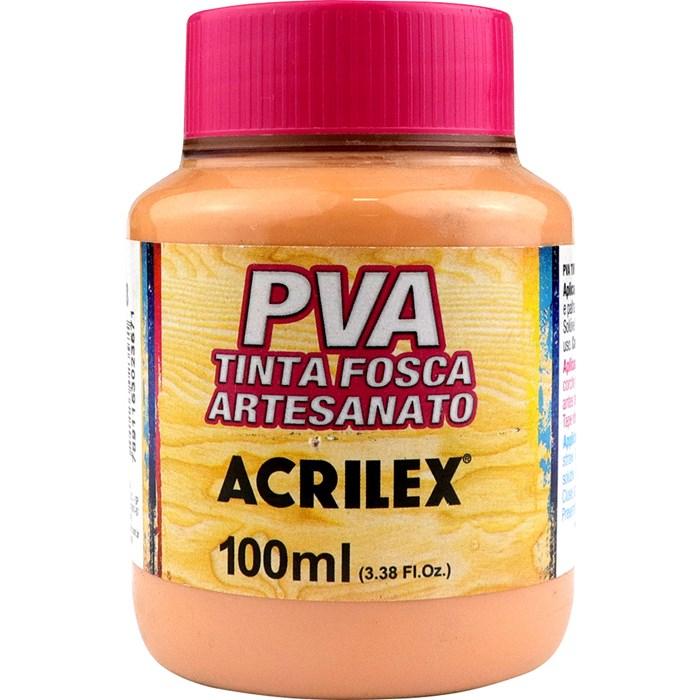 Tinta PVA Fosca para Artesanato Acrilex 100mL - 518 Salmão