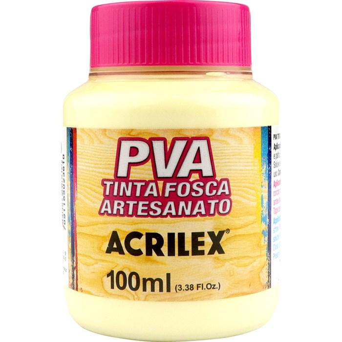 Tinta PVA Fosca para Artesanato Acrilex 100mL - 529 Marfim