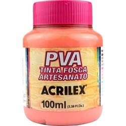 Tinta PVA Fosca para Artesanato Acrilex 100mL - 829 Flamingo