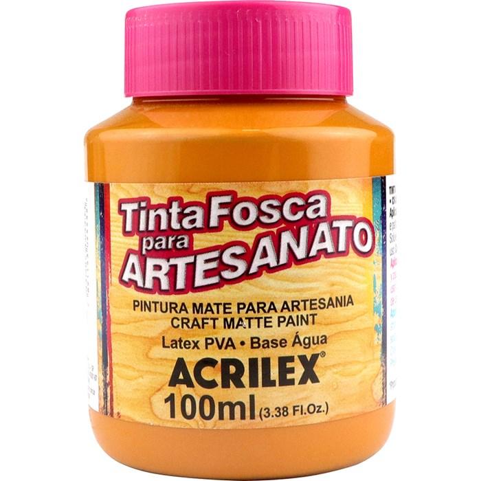 Tinta PVA Fosca para Artesanato Acrilex 100mL Amêndoa
