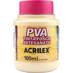 Tinta PVA Fosca para Artesanato Acrilex 100mL Areia